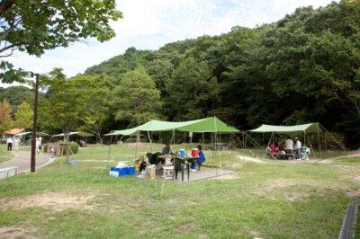 しあわせの村 デイキャンプ場(バーベキュー場)