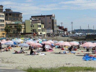 日間賀島西浜海水浴場(サンセットビーチ)