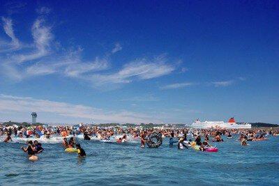 【2020年営業中止】大洗サンビーチ海水浴場