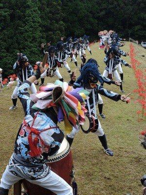 救世神社秋祭り
