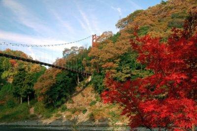 多良峡の紅葉