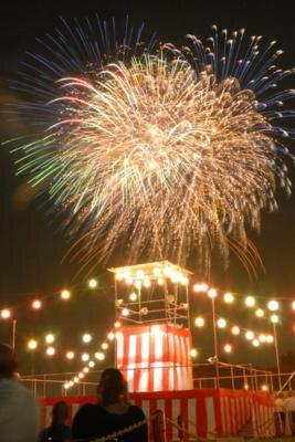 基地創設60周年記念入間基地納涼祭「盆踊りと花火の夕べ」
