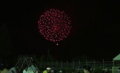 阿木夏祭り花火大会