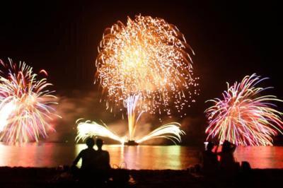 【2020年開催なし】第41回慶野松原花火大会
