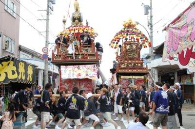 【観覧中止】祇園祭り
