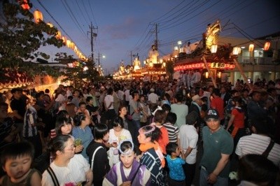 【2020年開催なし】潮来祇園祭禮