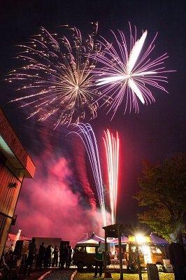 木の城栗山花火2017