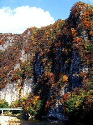 井倉峡の紅葉