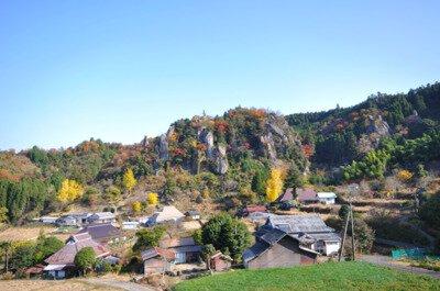立羽田の景の紅葉