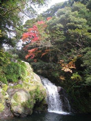 轟峡の紅葉