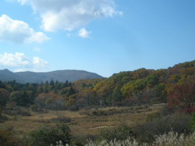 古峰ヶ原高原の紅葉