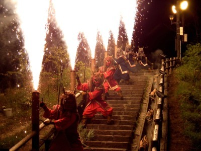 【2020年開催なし】地獄の谷の鬼花火