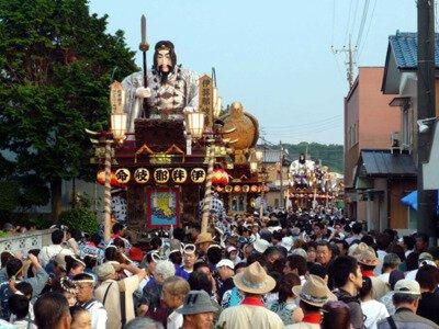 佐原の大祭夏祭り(八坂神社祇園祭)【2021年中止】