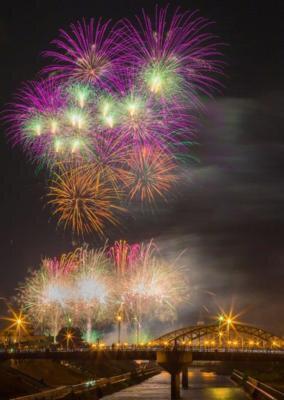 旭川夏まつり「創業130周年記念第65回道新納涼花火大会」