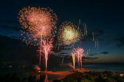 海洋博公園サマーフェスティバル2017 第39回海洋博公園花火大会