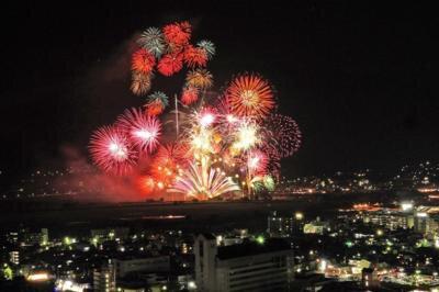 第66回亀岡平和祭保津川市民花火大会