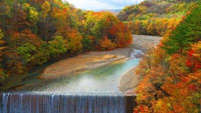 八幡平(松川渓谷)の紅葉