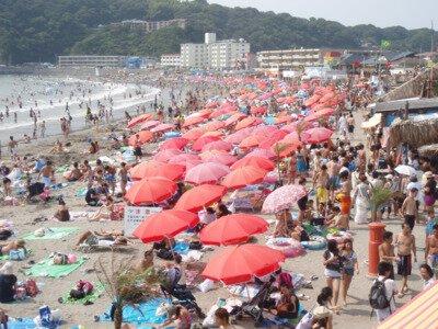 【2020年営業中止】逗子海水浴場