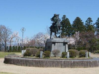 城山公園の桜(岐阜県)