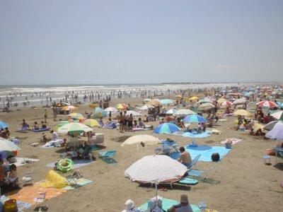 【2020年営業中止】本須賀海水浴場
