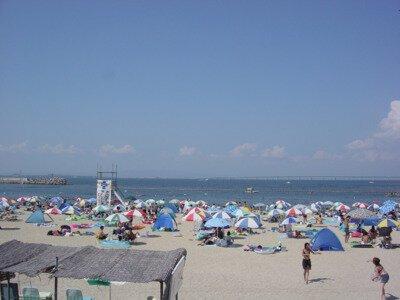 【2020年営業中止】りんくう南浜海水浴場(タルイサザンビーチ)