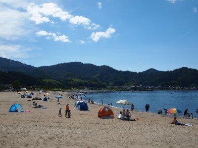 【2020年営業中止】香住浜海水浴場