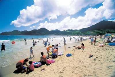 【2020年営業中止】田井ノ浜海水浴場