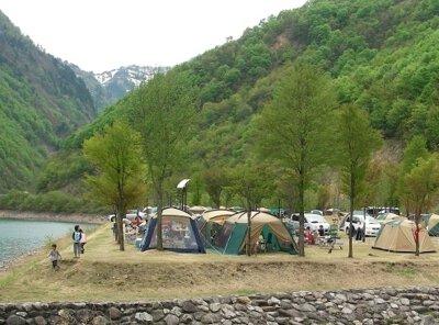 桂湖オートキャンプ場