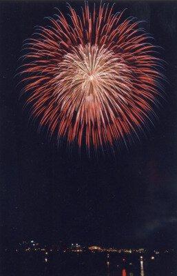 まるがめ婆娑羅まつり2017花火大会