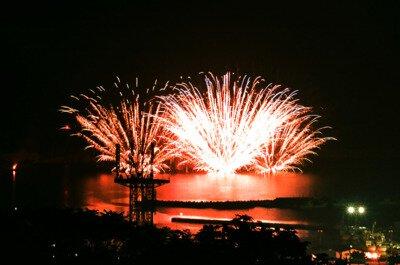 第63回 もんべつ観光港まつり オホーツク花火の祭典