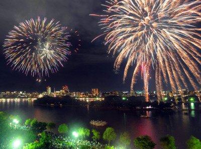 【2019年開催なし】第56回西日本大濠花火大会