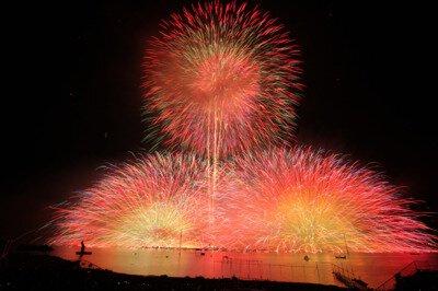 第69回諏訪湖祭湖上花火大会