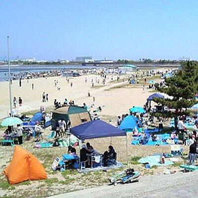 【2020年営業中止】二色の浜海水浴場
