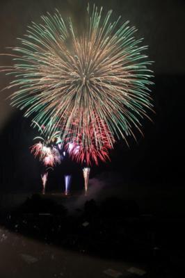 秋吉台観光まつり 花火大会