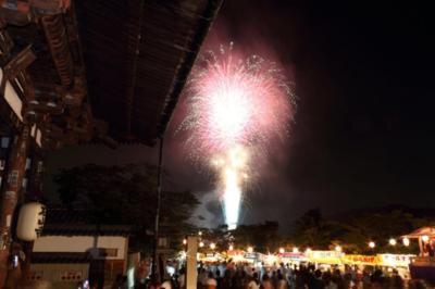 【2016年中止】石山寺千日会と瀬田川に煌く炎のページェント