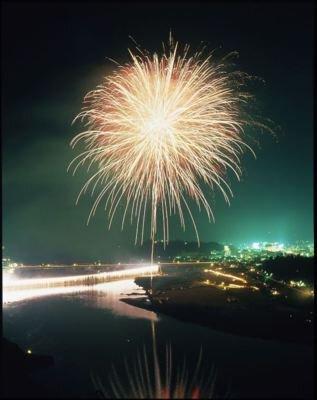 【2020年開催なし】熊野徐福万燈祭 第57回新宮花火大会