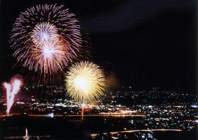 【2020年中止】市田灯ろう流し大煙火大会