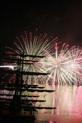 【2019年開催なし】南あわじ市市民まつり 福良湾海上花火大会