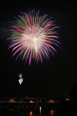 鹿島の花火