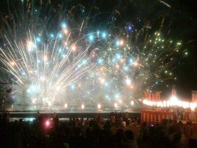 【2019年開催なし】静波海水まつり花火大会