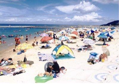 【2020年営業中止】多賀の浜海水浴場