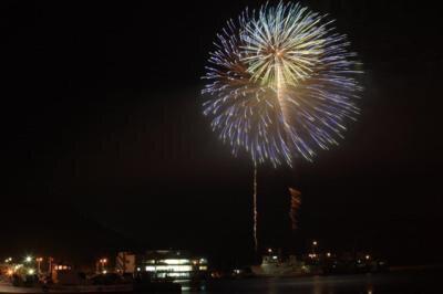 【2020年中止】トライアスロン伊良湖大会前夜祭 花火大会