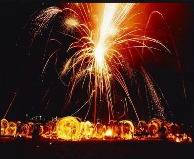 紀和の火祭り