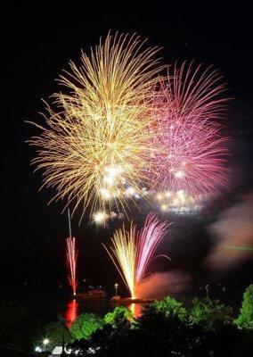 【2020年開催なし】第46回米子がいな祭大花火大会