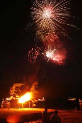 【2020年開催なし】1262芦ノ湖夏まつりウィーク 湖尻龍神祭花火大会