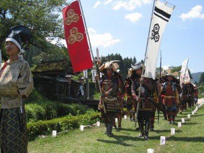 日本遺産認定記念 49回越前朝倉戦国まつり