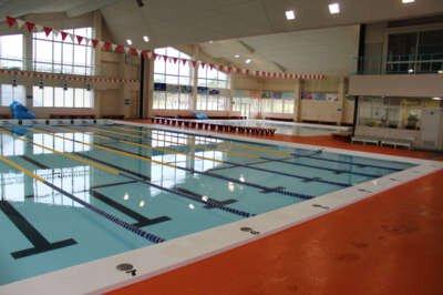 魚津市総合体育館室内温水プール