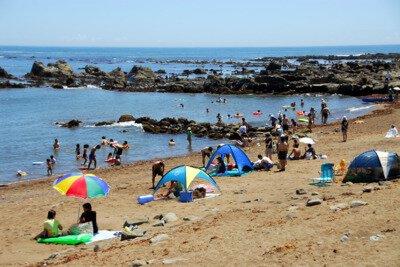 【2020年営業中止】海鹿島海水浴場
