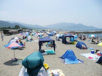 【2020年営業中止】白谷海水浴場