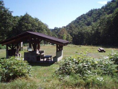 トムラウシ自然休養林野営場